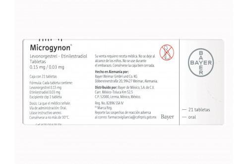 Comprar-Microgynon-0.15-mg-0.03-mg-21-tabletas-Bayer-Tienda-Mexico-DF-Precio-7501303444001