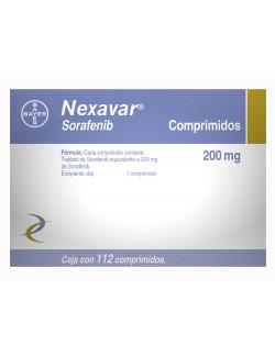 Comprar-Nexavar-200-mg-112-comprimidos-Bayer-Tienda-Mexico-DF-Precio-7501318690356