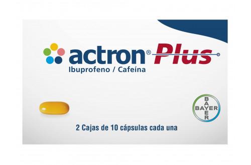 Comprar-Actron-Plus-400-mg-100-mg-2-cajas-de-10-cápsulas-Bayer-Tienda-Mexico-DF-Precio-7501318627345
