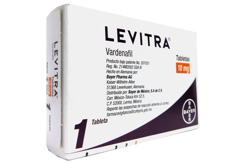 Levitra 10 mg 1 Tableta